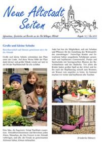 Neue Altstadtseiten Ausgabe 2014/12