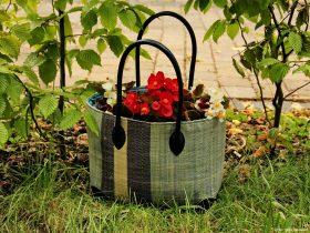 bepflanzte Handtaschen
