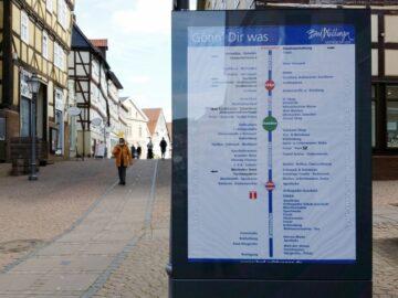 Einkaufen in der Innenstadt Bad Wildungen